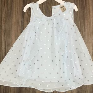 Oshkosh Blue Toddler Dress